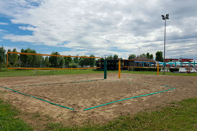 beach volley livenza